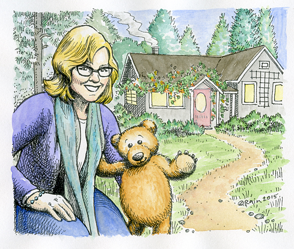 Toby Bear with Lisa Bolton Illustration
